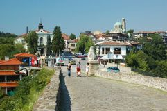 Veliko Tarnovo ,Bulgaria,unesco heritage Royalty Free Stock Photos