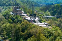 Veliko Tarnovo, Bulgarien am 14. April 2018 Stockbilder