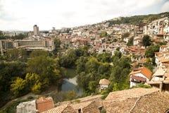 Veliko Tarnovo - Bulgarije Royalty-vrije Stock Foto's