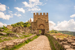 Veliko Tarnovo castle gate Royalty Free Stock Photos