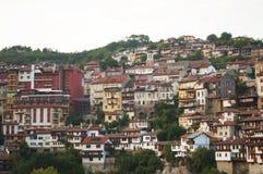 Veliko Tarnovo city beautiful panorama Stock Image