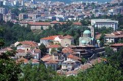 Veliko Tarnovo e catedral Fotos de Stock