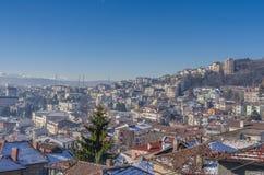 Veliko Tarnovo em Bulgária Fotografia de Stock Royalty Free