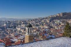 Veliko Tarnovo en Bulgaria Imagen de archivo libre de regalías