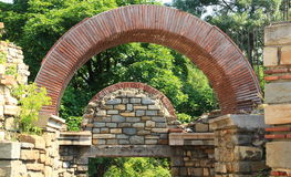 Veliko Tarnovo, the fortress of Tsarevets Stock Images