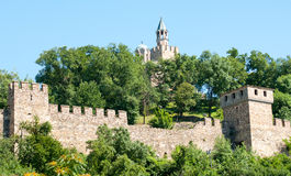 Veliko Tarnovo: fortress Tsarevets Stock Photo