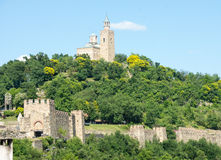 Veliko Tarnovo. Fortress Tsarevets Stock Photos
