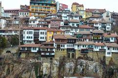 Veliko Tarnovo, la capitale storica della Bulgaria Fotografie Stock