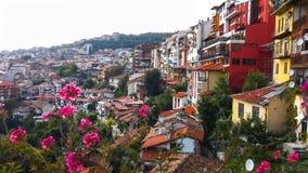 Veliko Tarnovo, la capitale storica della Bulgaria Fotografie Stock Libere da Diritti