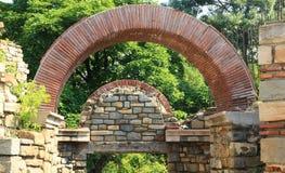 Veliko Tarnovo, la fortezza di Tsarevets Immagini Stock