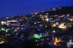 Veliko Tarnovo at Night Stock Photos
