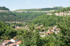 Veliko Tarnovo. Old Town from the ramparts Royalty Free Stock Photo