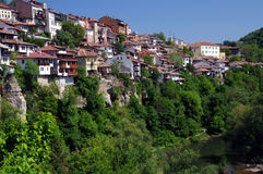 Veliko Tarnovo in Spring Royalty Free Stock Photography