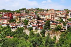 Veliko Tarnovo stad arkivbilder