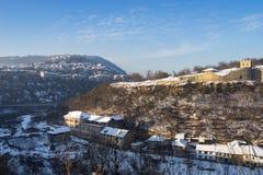 Veliko Tarnovo stad fotografering för bildbyråer