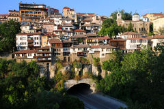 Veliko Tarnovo at Sunset Royalty Free Stock Photos