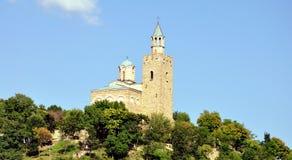 Veliko tarnovo tsarevets. Veliko Tarnovo, Bulgaria, The Tzarevetz Castle Royalty Free Stock Photo