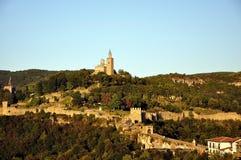 Veliko tarnovo tsarevets. Veliko Tarnovo, Bulgaria, The Tzarevetz Castle Royalty Free Stock Image