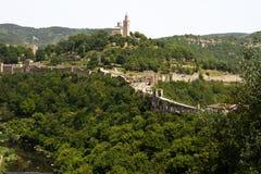 Veliko Tarnovo, Tsarevets Стоковое Изображение