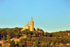 Veliko tarnovo tsarevets. Veliko Tarnovo, Bulgaria, The Tzarevetz Castle Royalty Free Stock Photography