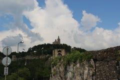 Veliko Tarnovo - Tsarevets - ett dagligt foto som visar flera beståndsdelar i länder Fotografering för Bildbyråer