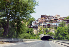Veliko Tarnovo tunnel Royalty Free Stock Photos