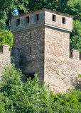 Veliko Tarnovo. Watchtower fortress Tsarevets Royalty Free Stock Photos
