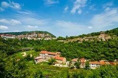 Veliko Tirnovo (Tarnovo) in Bulgarien Stockfotos