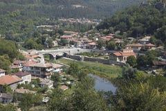 Veliko Tyrnovo bulgaria immagini stock libere da diritti