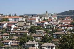 Veliko Tyrnovo. Bulgaria. Panorama of Veliko Tyrnovo in Bulgaria Royalty Free Stock Image