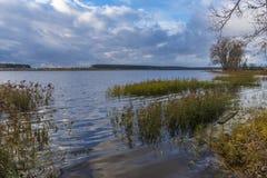 Velikoye sjö, Hlybokaye Royaltyfria Foton