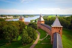 Veliky Novgorod, Κρεμλίνο Στοκ Εικόνες