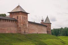 veliky novgorod för antagandeauktionkyrka kremlin royaltyfria bilder