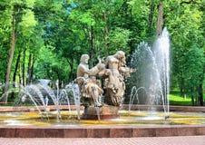 veliky novgorod för antagandeauktionkyrka Ryssland Sadko springbrunn Royaltyfri Foto