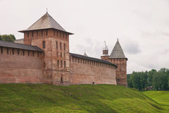 Veliky Novgorod kremlin Imágenes de archivo libres de regalías