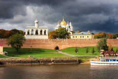 Veliky Novgorod Kremlin Stock Photo