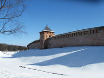 Veliky Novgorod, Kremlin, Winter Royalty Free Stock Photos