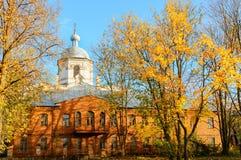 Veliky Novgorod, Rusland Kathedraal van de Heilige Geestafdaling in Veliky Novgorod, Rusland stock foto's