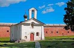 Veliky Novgorod. Russia. Church of Saint Andrey Stratelates. Veliky Novgorod. Russia. Saint Andrew (Andrey) Stratelates Church in Kremlin Royalty Free Stock Photo
