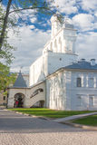VELIKY NOVGOROD, RUSSIA - 23 MAY:The towers of Kremlin fortress , RUSSIA -23 MAY 2017. Novgorod-ancient Russian city with beautiful architecture Royalty Free Stock Image