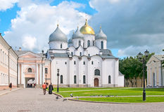 Veliky Novgorod. Russia. The St. Sophia Cathedral Stock Photo