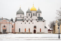 Veliky Novgorod, Russia in winter Royalty Free Stock Photos