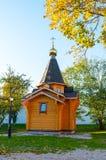 Veliky Novgorod, Russland Kapelle von St. Vladimir - Prinz von Novgorod und Baptist von Rus lizenzfreie stockfotos