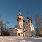 Veliky Ustyug, Church of the Ascension Stock Photography