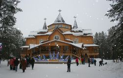 Veliky Ustyug. House of Father Frost (Ded Moroz) -. Veliky Ustyug, a town in the Vologda Oblast, Russia - the official home of russian Ded Moroz Stock Photo