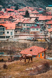 Velingrad une capitale de STATION THERMALE des Balkans dans Rhodope Mountsins Bulgarie Images stock