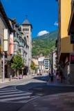 Velinos do la de Andorra do centro Fotos de Stock Royalty Free