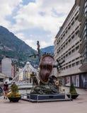 Velinos do la de Andorra do centro Imagem de Stock Royalty Free