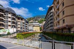 Velinos do la de Andorra do centro Fotos de Stock