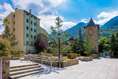 Velinos do la de Andorra do centro Imagens de Stock